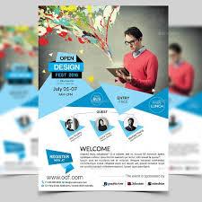 Elegant Conference Flyer Template Flyer Template Flyer