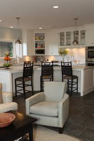 california ranch style home contemporary kitchen los angeles
