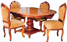 wood dining tables. Buy Wooden Dining Table From Usha Handicrafts, Saharanpur Wood Tables