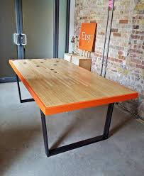 recycled pallet industrial conference table