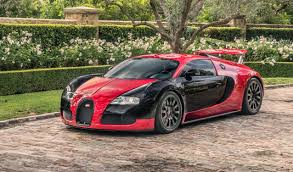 The exterior colour, the interior design, the unique details: Rarely Seen Red And Black 2008 Bugatti Veyron For Sale