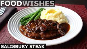 I first shared this recipe almost 3 years ago and it's been tried and loved by many readers since. Salisbury Steak Tv Dinner Style Food Wishes Youtube