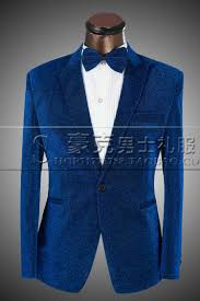 Royal Blue And Silver Wedding Suits