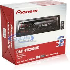 pioneer deh p5200hd (dehp5200hd) cd mp3 car stereo w hd radio Deh P5100ub Wiring Diagram product name pioneer deh p5200hd deh-p5100ub wiring diagram