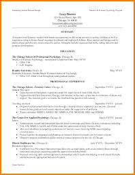 Resume Masters Degree Master's Degree Resume Sample Danayaus 7