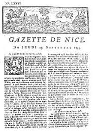 history of french journalism gazette de nice jpg