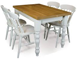 Pine Farmhouse Kitchen Table Pine Farmhouse Dining Table And 4 Fiddle Back Chairs T3048tset