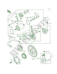 starter motor klf400 b2 bayou 400 4x4 1994 400 quad kawasaki Schematic Diagram at 1994 Klf400b Wiring Diagram