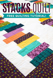 460 best Quilting Tutorials images on Pinterest | Quilting ... & Make a simple and stunning Stacks Quilt using Strips of fabric with Jenny  Doan of Missouri Star Quilt Co. Adamdwight.com