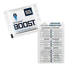 Gram Size Chart Integra Boost Rh 55 2 Way Humidity Control 4 Gram 48 Packets Twin Canaries Chart