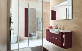 Maroon Bathroom Accessories Accessories Appealing Image Of Modern Small Bathroom Decoration