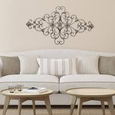 stratton home decor stratton home decor ornate scroll wall decor