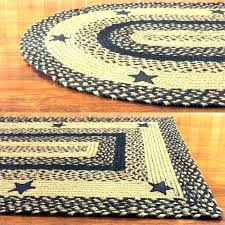 primitive country area rugs best black and tan braided rug with stars whole round how primitive area rugs