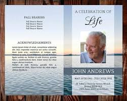 Funeral Program Word Template Magnificent Funeral Card Templates Microsoft Word Flybymediaco
