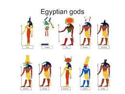 Chart Of Ancient Kemetic Egyptian Gods And Goddesses