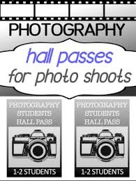 Student Hall Pass Photography For High School Student Hall Pass By Dream On