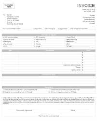 repair invoice template computer repair invoice template get your free invoice template