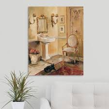 greatbigcanvas french bath ii by marilyn hageman canvas wall art