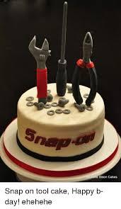 Michelle Sison Cakes Snap On Tool Cake Happy B Day Ehehehe Cake