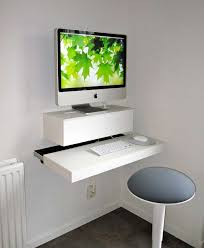 assorted enchanting computer desk ideas modern design contemporary white folding desk for imac computer with cool white o