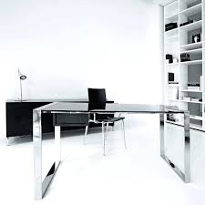modern glass office desk modern office chair small medium modern executive glass desk for office furniture