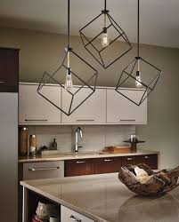 decorations decorative and unique lighting fixture idea inside dining room with kitchenette and granite top