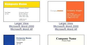 Word Business Card Templates Birthday Template 2007 Free Collections