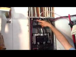 how to install a square d gfi breaker youtube Gfi Breaker Box Wiring Diagram Gfi Breaker Box Wiring Diagram #29 Circuit Breaker Panel Wiring Diagram