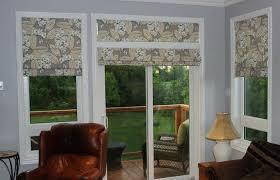 modern interior design medium size roll up shades for patio doors sliding shade door glass roller