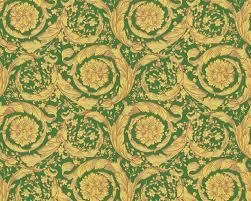 Baroque Design Wallpaper Versace Home Wallpaper Baroque Flowers Beige Brown