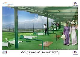 Driving Range Design Cam Ranh Eco Resort Project Khanh Hoa Province Vietnam