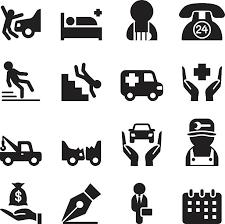 交通事故 イラスト素材 Istock