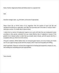 29+ Resignation Letter Templates In Pdf | Free & Premium Templates