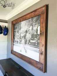 diy wood frame with home and picture frames awesome 257 best m a k e images on