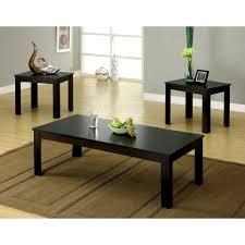 set of three coffee tables furniture of america cm4329 3pk bay square three piece coffee