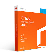 Microsoft Office 2016 Home And Student For Mac Retail Box 1 User