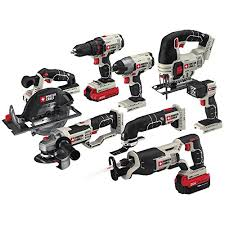 porter cable power tools. porter-cable pcck619l8 20v max 8-tool combo kit porter cable power tools 2
