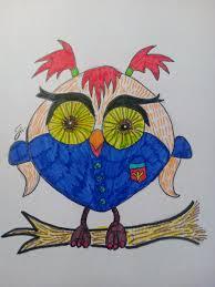 как нарисовать сову карандашом поэтапно 5 уроков