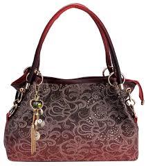 tinksky handbags for women faux leather purse las handbag vintage designer handbags shoulder bag hollow out design with fine pendant fashion tote bag
