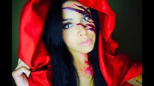 makeup tutorial little red riding hood