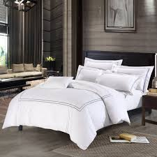 com deep sleep home 250 thread count cotton sateen duvet cover 3 piece white background queen grey home kitchen