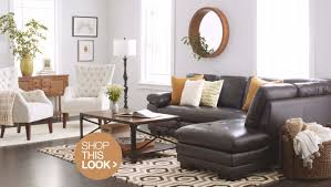 Ideas for living room furniture Minimalist Contemporary Living Room Ideas With Brown Leather Sofa Overstock Trendy Living Room Decor Ideas To Try At Home Overstockcom