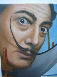 Image result for retrato dali abstracto