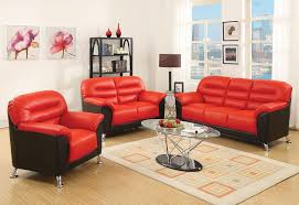 zane black and red leather sofa set jpg