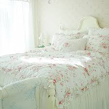 shabby chic bed set  bed furniture decoration