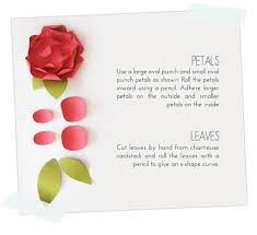 Flower Shaped Paper Punches Easy Paper Punch Flowers Damask Love