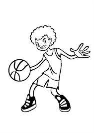 Kids N Fun 17 Kleurplaten Van Basketbal