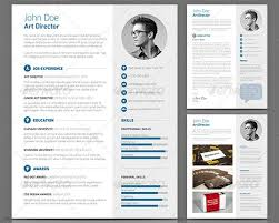 Gallery Of 20 Creative Resume Cv Indesign Templates Design Freebies
