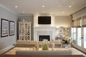 Paint Colors For A Living Room Gorgeous Open Living Room Design With Gray Walls Paint Color
