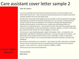 Care Aide Cover Letter Health Care Aide Cover Letter Example Care Assistant Cover Letter